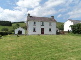 Panoramic Countryside at Merlin House, Llandovery