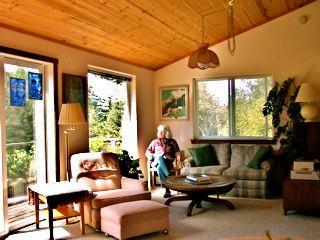 Light, airy living room