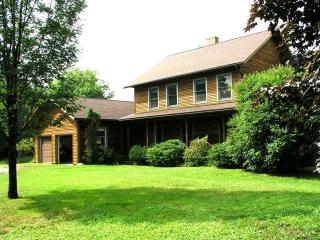 Beautifully situated house with surrounding acreage