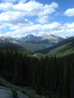 View on Monarch Pass, Mt Aetna