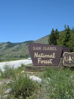 Welcome to the San Isabel National Forest