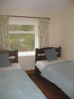 Ty Nant Cottage - Twin Bedroom