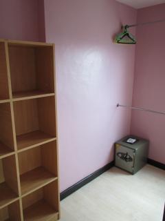 Dressing room area