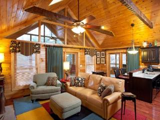 Not Your Traditional Log Cabin
