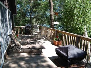 Spacious Deck with Multiple Lake Views
