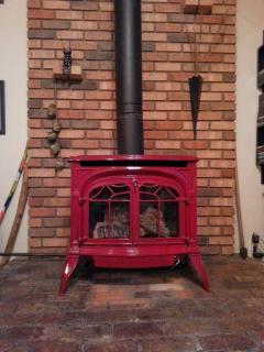 New Vermont Castings gas stove
