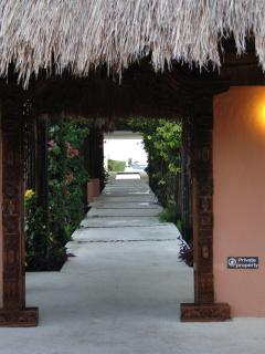 Entrance to paradise