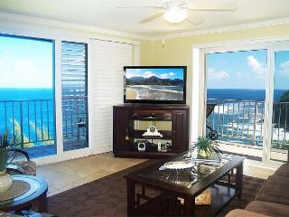 Alii Kai 4301: Gorgeous oceanfront top floor corner!  Beautiful inside., Princeville