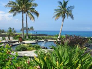 Hali'i Kai - Spectacular Ocean View 2 Bed End Unit, Waikoloa