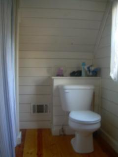 upstairs bath has jetted tub