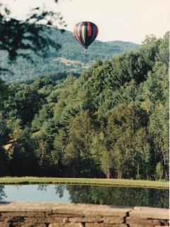 View with Ballon