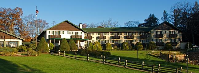 The nearby Switzerland Inn-- a great place for meals and to take in the views