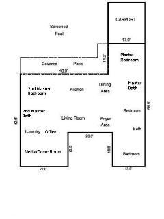 Hollywood Hills Floor Plan