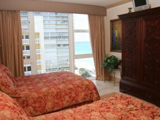 Ocean view Guest Bedroom With 2 Double Beds.  Sleeps 4.