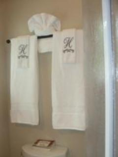 Luxurious Towels make you feel pampered