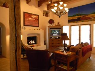 Gas log fireplace, fine furnishings throughut