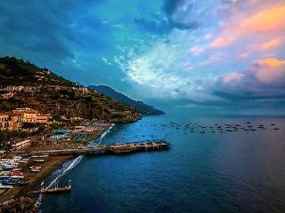 Ciliegia-Sea view/few steps from the sea, Minori