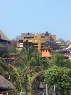 Condo Building from Playa La Ropa.