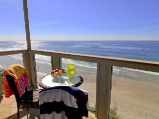 Oceanfront rental with 7br, 5ba, private spa, patio, endless ocean views, Encinitas
