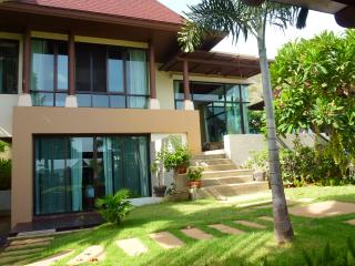 Front of villa ..May 2013