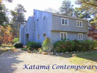 GATTA - Katama Area, 1.5 mi to South Beach, Spacious Contemorary Home, Deck and, Edgartown