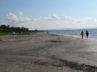 14 klm of beach front - the longest freshwater beach in the WORLD!