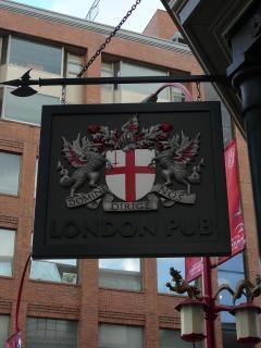 London Pub - steps away at Main St. & Georgia St.