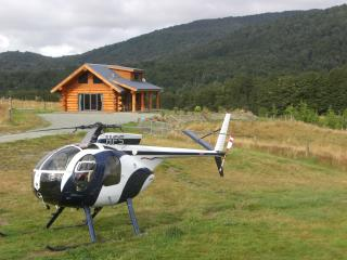 Cabin and Helicopter