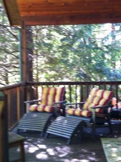 Enjoy the porch views