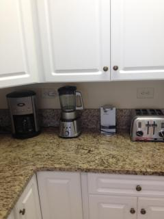 Kitchen Small appliances including a blender for your frozen drinks