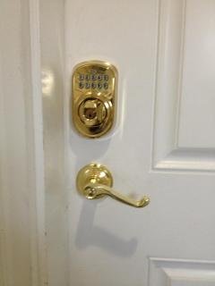 Key-less entry lock for your convenience
