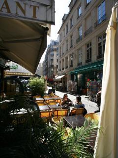 Pedestrian street, rue de la Verrerie