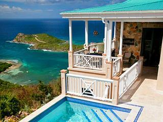 Palm Vista: 1 of the Top 10 Villa Views in World!, St. John