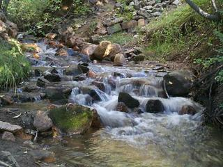 Creek on property - Rio Chupadero
