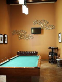 Spend some time in the new game room.