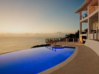 Infinity Pool and terrace overlooking the Caribbean Sea