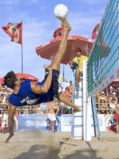 Hollywood Beach PRO FOOT Beach Volley Ball sponsored by Villa Sinclair 1-954-450-0000