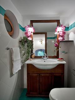 appartamenti positano villa le terrazze bagno 2