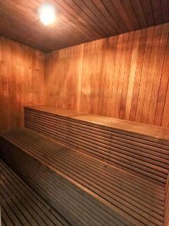 Public sauna of building