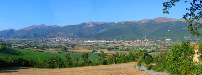 Gualdo Tadino town view