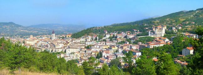 Gualdo Tadino town