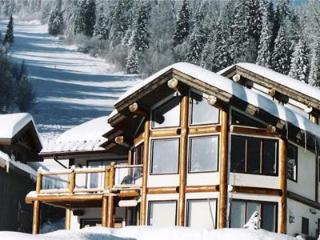 Open concept Chalet, Finest Ski in/ski out,outdoor hot tub, log post & beam, Sun Peaks