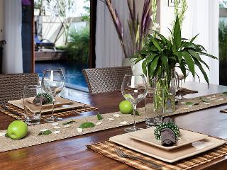 Dining setting.