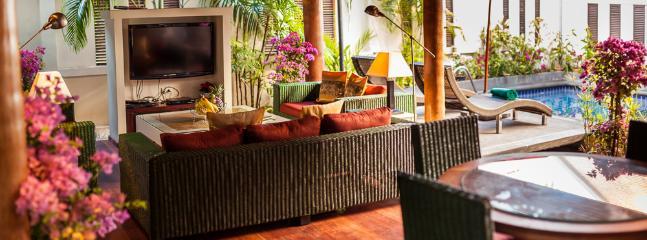 Balinese/Thai style living room