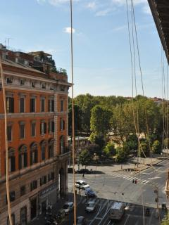 View from the window (Piazza Vittorio)