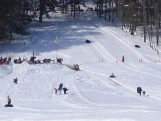Snow tube, snowshoe, cross country ski and skate at Glimmerglass State Park 1/2 mile away!