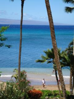 401 View of beach from Lanai