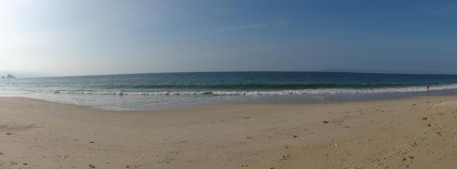 Panoramic View of our Beach
