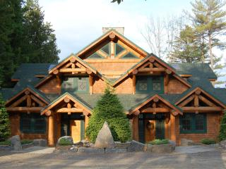 A duplex lodge at AHP