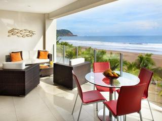 Ocean front 2 bedroom condo at Diamante del Sol, Jacó